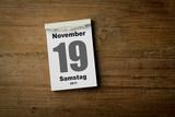 19 November poster