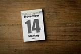 14 November poster