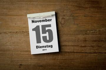 15 November