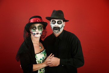 Day of the Dead Couple