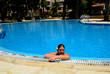 Schwimmbad in der Anlage von Paphos