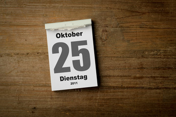 25 Oktober