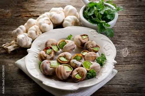 bourguignonne snail - lumache alla bourguignonne