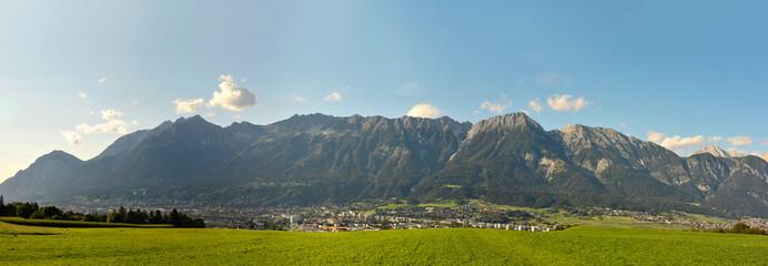 Bergkette in den Alpen