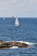 Sailboats in the archipelago