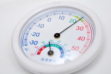 Thermomete and Hygrometer