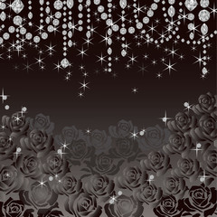 jewelry rose background