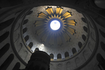 Rotunda of the church Holy Seplche