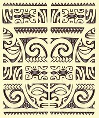maori seamless tribal