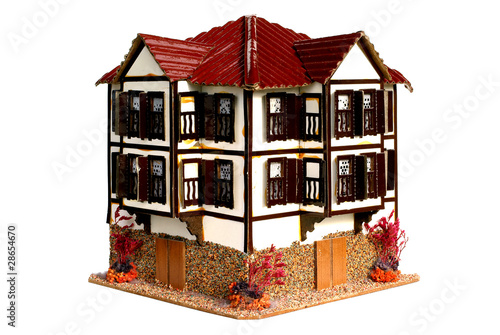 Model House on White