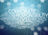 Corporate Social Responsibility poster