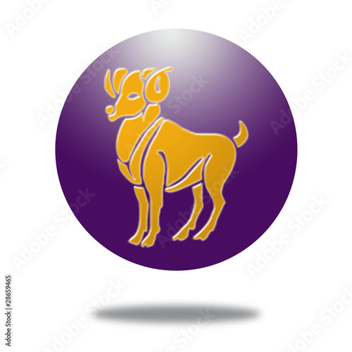 Signo del zodiaco aries by fran royalty free stock photos for Signo del zodiaco