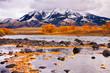 Yellowstone River & Absaroka Mountains