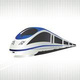 Fototapety High-speed train
