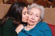 Grandmother and Granddaughter Lifestyle