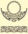 tribal maori armband