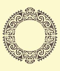 tribal maori collar