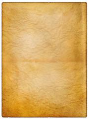 wrinkled vintage paper