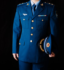 Chinese Air Force officers uniforms