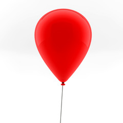 One red balloons