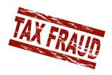 Tax fraud / vektor poster