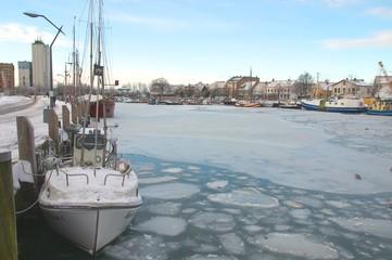 winterday in Eckernfoerde