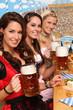 Dirndl und Bier
