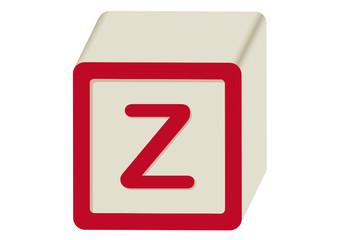 Letra Z abecedario Infantil