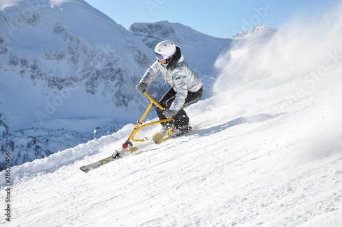 snowbike piste 9189 - 28670456