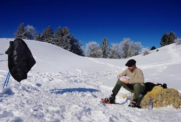 raquette à neige,randonnée,snow