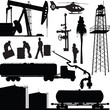 set of oil industry