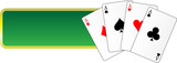 banner gambling cards casino