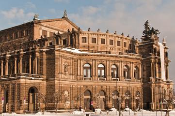 Dresden - Altstadt - Semperoper
