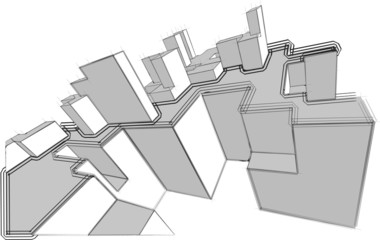 sketch of an abstract architecture