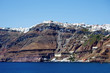 Coastline with Cliffs of Santorini Island, Greece
