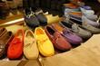 Des mocassins de couleur