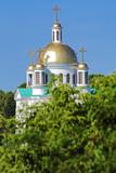 Church of the Saints Faith, Hope, Charity in Poltava, Ukraine poster