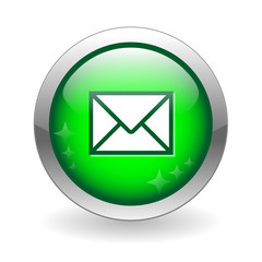 E-MAIL Web Button (contact us internet online address message)