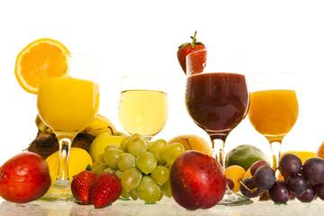 fresh juice fruits