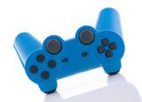 joystick azzurro poster