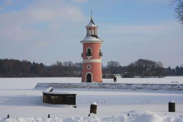 Leuchtturm in Moritzburg