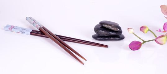 baguettes et galets zen