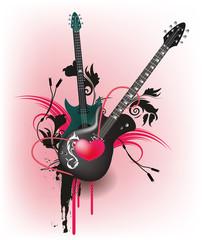Liebe zur Musik, Gitarre mit Herz