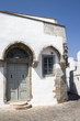 Patmos - Ancient house with gothic arches