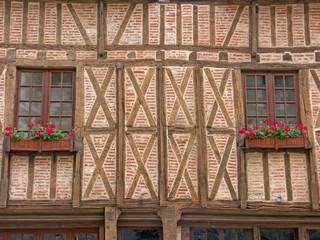façade de maison ancienne à Amboise