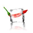 Chili im Eisblock