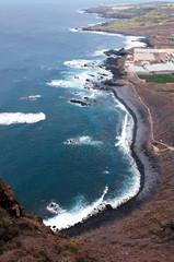 Coastline of Tenerife, Canary islands