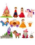 Fairytale set poster