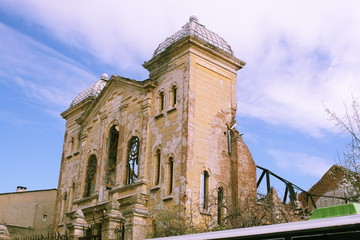 Synagogue in ruins