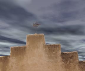 Storm Approaching Cross